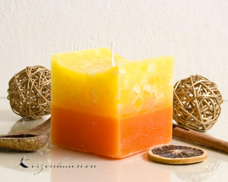 Pin Tischdeko Gelb Orange Mit Frühlingsblumen Und Wollband In ...