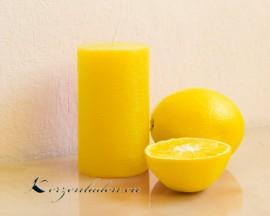Stumpen Duftkerze - Zitrone