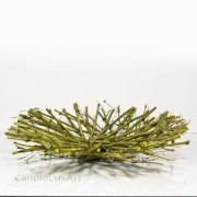 Bambus Tischschale grün - 42cm