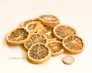 Dekoration echte Orangenscheiben 50g - Natur