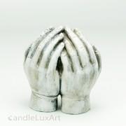 Trauerhände umschliessen Herz 10cm