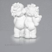 Engel Igor Pärchen mit Herz im Arm - 6cm verschiedene Formen