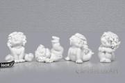 Engel Igor sitzend - verschiedene Formen 4,5-5,5cm