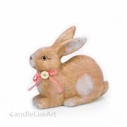 Keramik Hasen sitzend und liegend 16 - 24cm