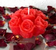 Rosenblüte - Rosenstrauß 10cm in verschiedenen Frarben