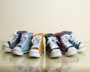 Spardose Schuh Keramik - verschiedene Farben